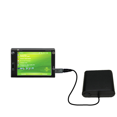 AA Battery Pack Charger compatible with the HTC X7500
