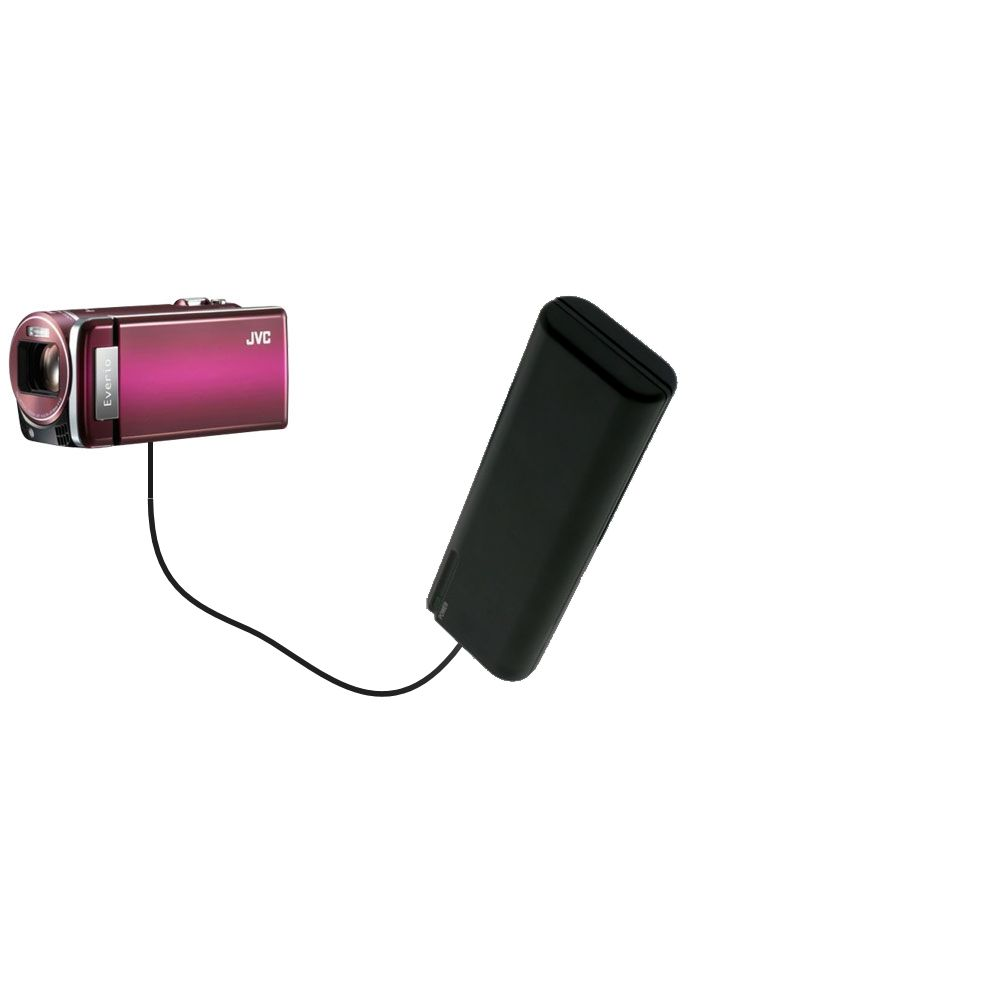 AA Battery Pack Charger compatible with the JVC Everio GZ-HM880 / HM890