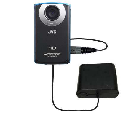 AA Battery Pack Charger compatible with the JVC GC-WP10 Waterproof Camera