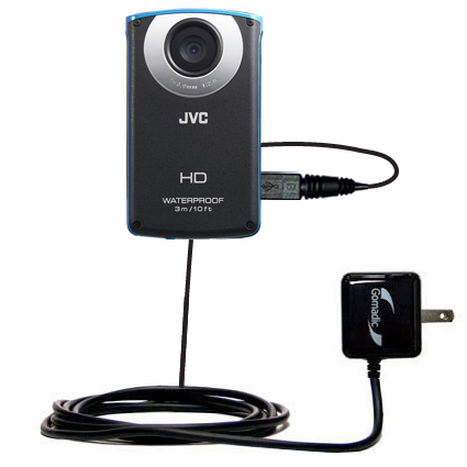 Wall Charger compatible with the JVC GC-WP10 Waterproof Camera