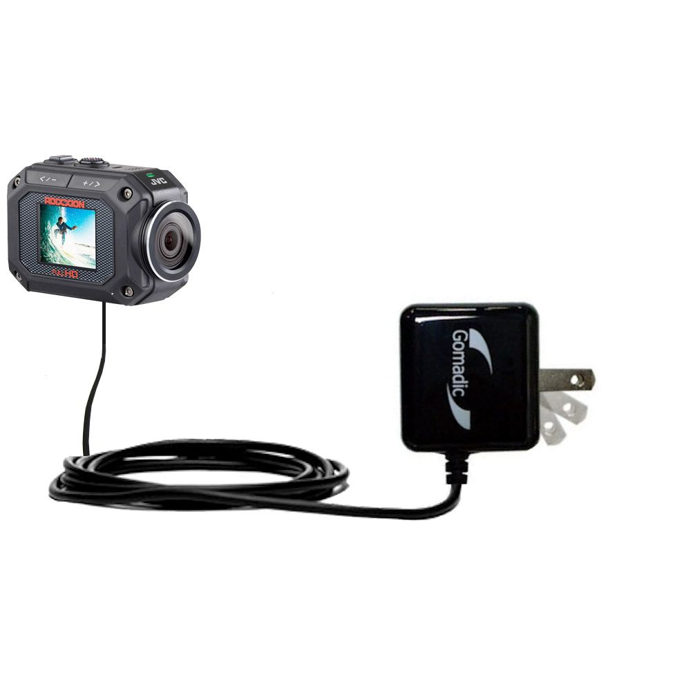 Wall Charger compatible with the JVC GC-XA2 Action Camera