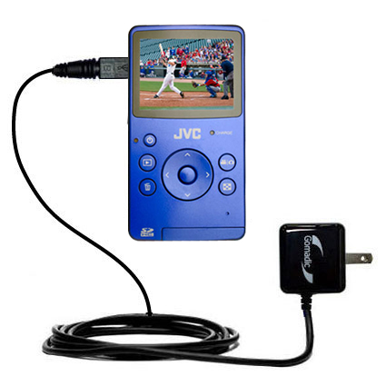 Wall Charger compatible with the JVC Picsio GC-FM1 Pocket  Video Camera