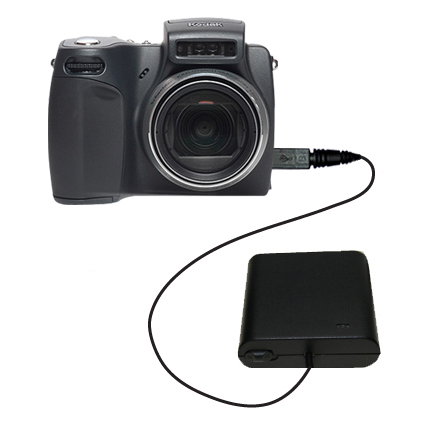AA Battery Pack Charger compatible with the Kodak DX6490
