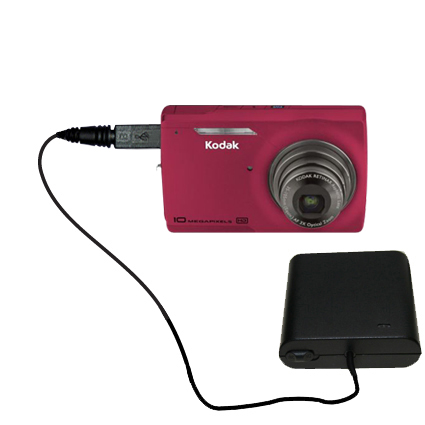 AA Battery Pack Charger compatible with the Kodak M1093 IS