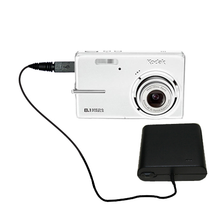 AA Battery Pack Charger compatible with the Kodak M893 IS