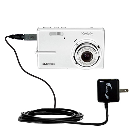 Wall Charger compatible with the Kodak M893 IS