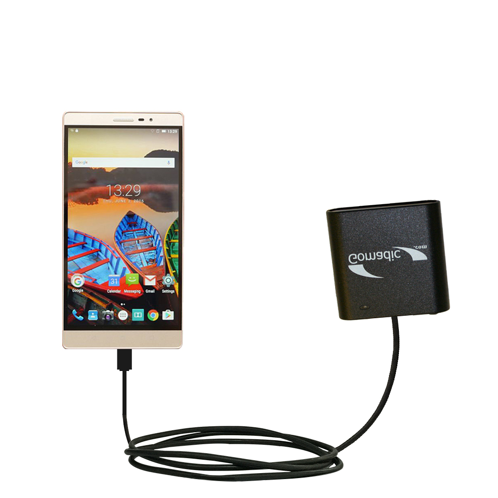 AA Battery Pack Charger compatible with the Lenovo PHAB 2 Pro