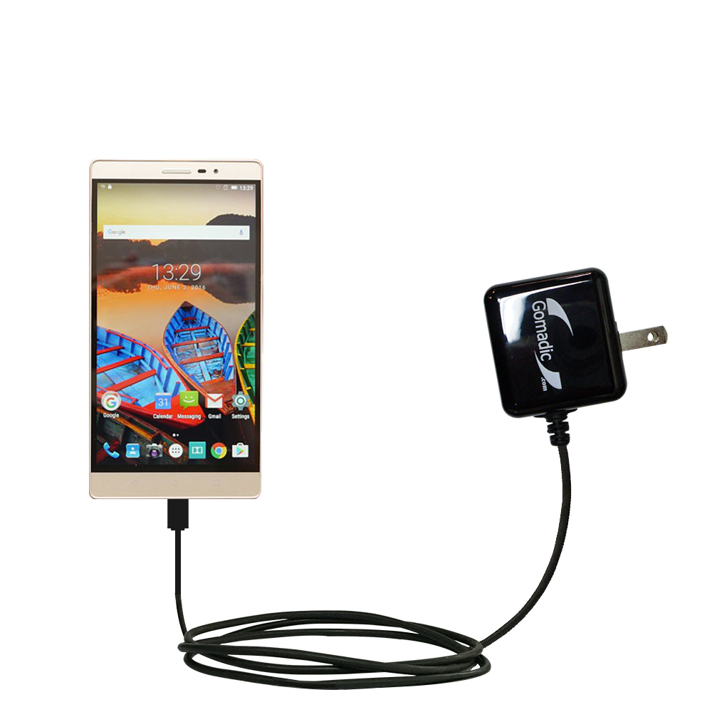 Wall Charger compatible with the Lenovo PHAB 2 Pro