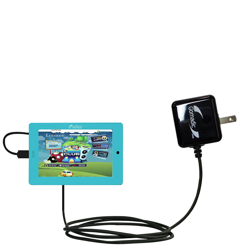 Wall Charger compatible with the Lexibook Tablet Master MFC155EN