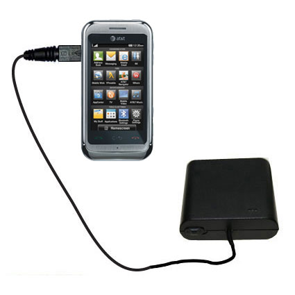 AA Battery Pack Charger compatible with the LG Arena