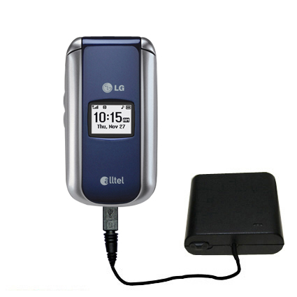 AA Battery Pack Charger compatible with the LG AX155