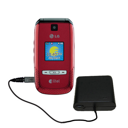 AA Battery Pack Charger compatible with the LG AX500
