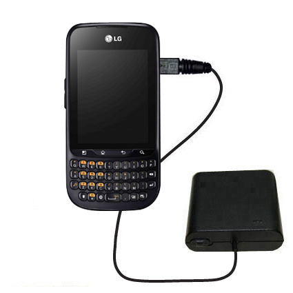 AA Battery Pack Charger compatible with the LG C660