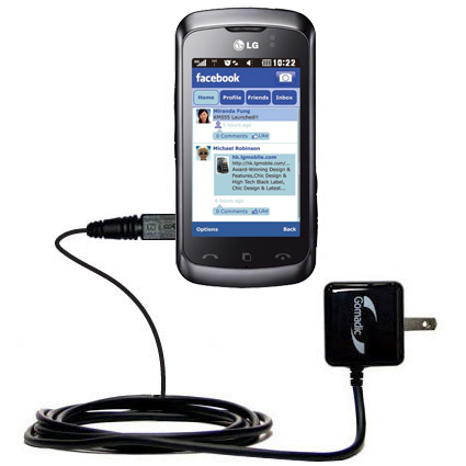 Wall Charger compatible with the LG Cookie Music