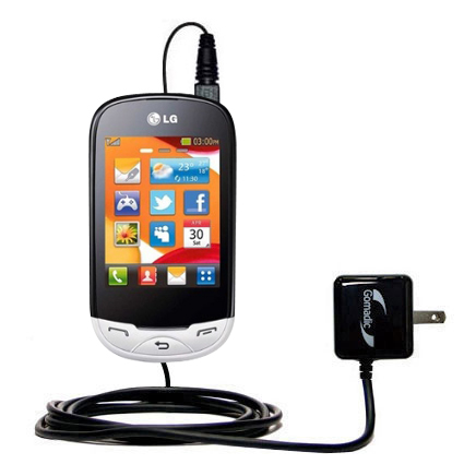 Wall Charger compatible with the LG EGO Wi-Fi