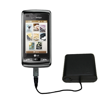AA Battery Pack Charger compatible with the LG enV Touch