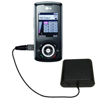 AA Battery Pack Charger compatible with the LG GB130