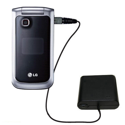 AA Battery Pack Charger compatible with the LG GB220