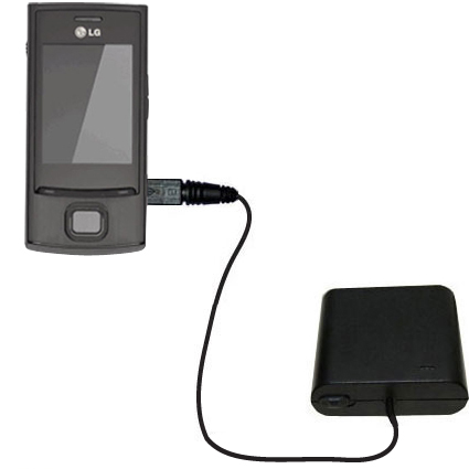 AA Battery Pack Charger compatible with the LG GD550