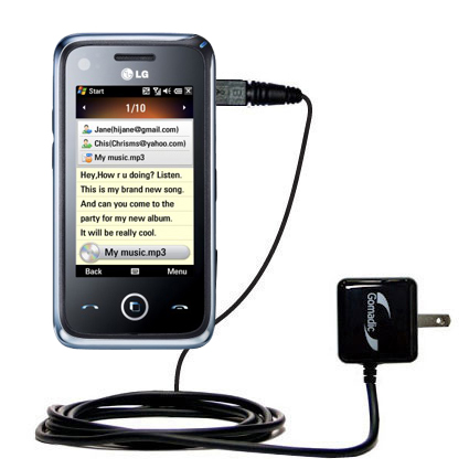 Wall Charger compatible with the LG GM730