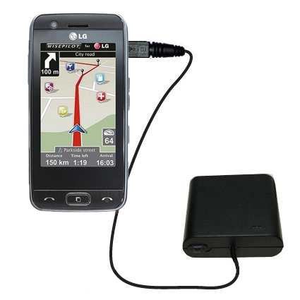 AA Battery Pack Charger compatible with the LG GT505
