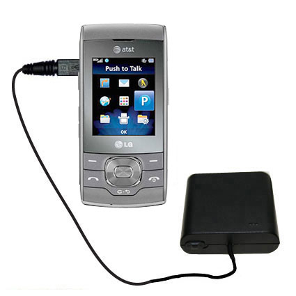 AA Battery Pack Charger compatible with the LG GU292