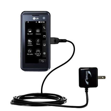 Wall Charger compatible with the LG KF700 / FG-700