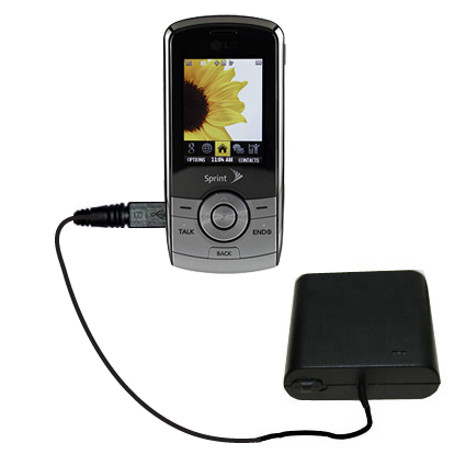 AA Battery Pack Charger compatible with the LG LX370