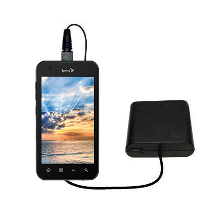 AA Battery Pack Charger compatible with the LG Marquee