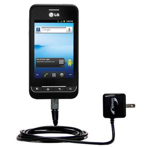 Wall Charger compatible with the LG Optimus 2