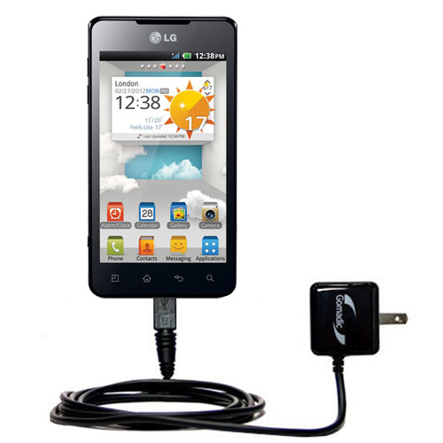 Wall Charger compatible with the LG Optimus 3D Cube