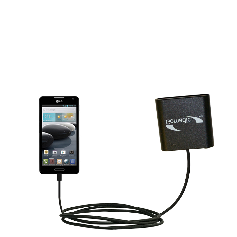 AA Battery Pack Charger compatible with the LG Optimus F6