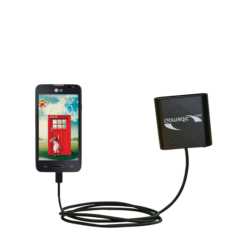 AA Battery Pack Charger compatible with the LG Optimus L70