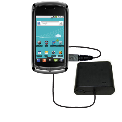 AA Battery Pack Charger compatible with the LG US760