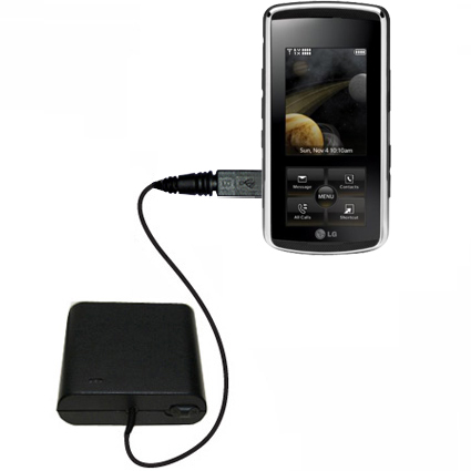 AA Battery Pack Charger compatible with the LG Venus