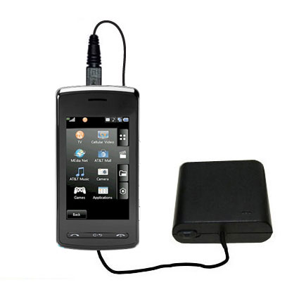 AA Battery Pack Charger compatible with the LG Vu Plus