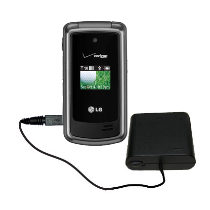 AA Battery Pack Charger compatible with the LG VX5500