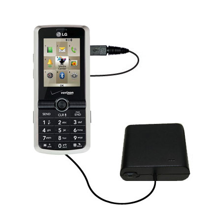 AA Battery Pack Charger compatible with the LG VX7100