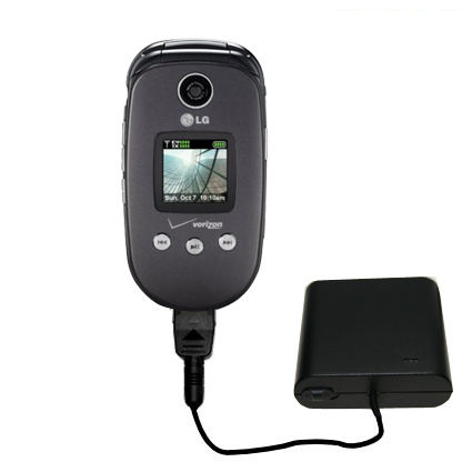 AA Battery Pack Charger compatible with the LG VX8350
