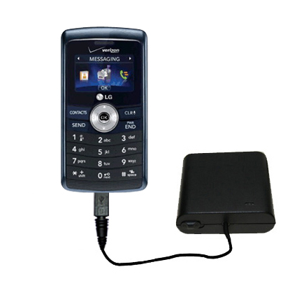 AA Battery Pack Charger compatible with the LG VX9200