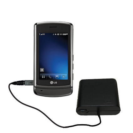 AA Battery Pack Charger compatible with the LG VX9700