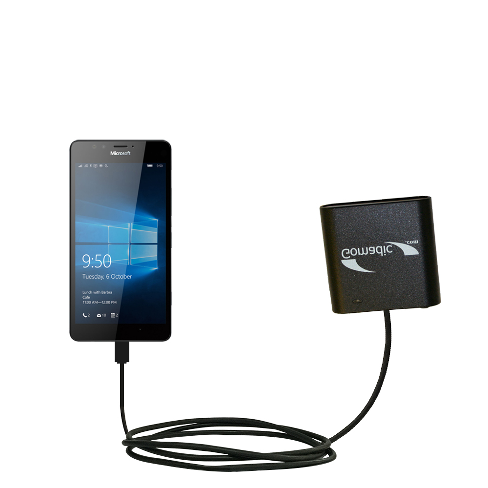AA Battery Pack Charger compatible with the Microsoft Lumia 950