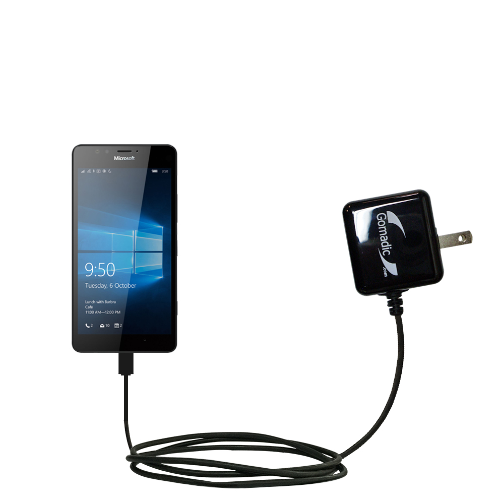 Wall Charger compatible with the Microsoft Lumia 950