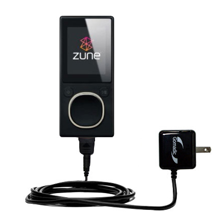 Wall Charger compatible with the Microsoft Zune 4GB / 8GB