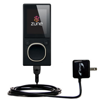 Wall Charger compatible with the Microsoft Zune 8 / 12