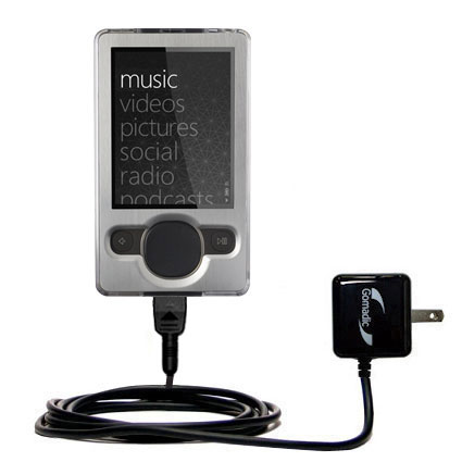 Wall Charger compatible with the Microsoft Zune (2nd and Latest Generation)