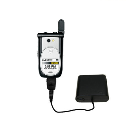 Portable Emergency AA Battery Charger Extender suitable for the Nextel i920 i930 - with Gomadic Brand TipExchange Technology