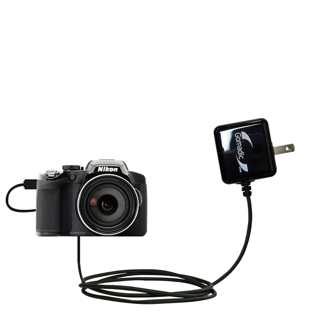 Wall Charger compatible with the Nikon Coolpix P510 / P520