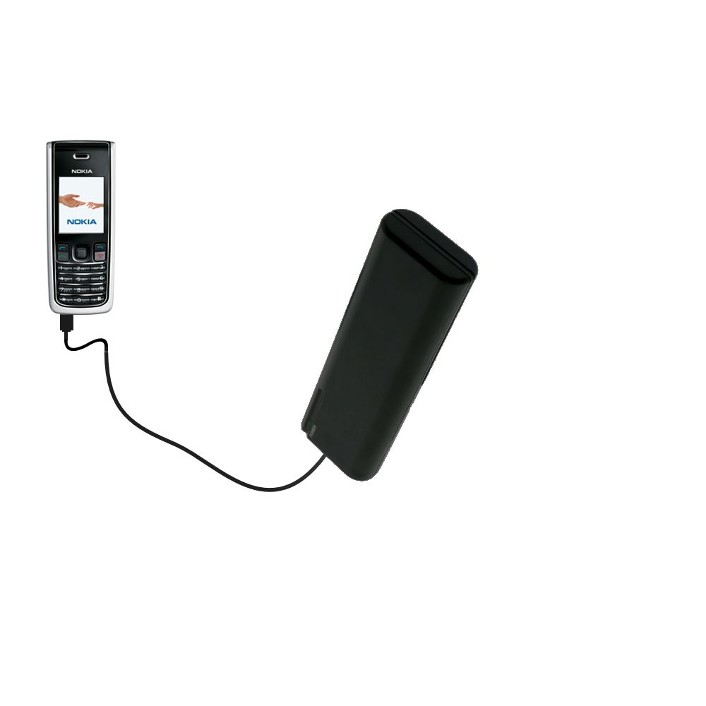 AA Battery Pack Charger compatible with the Nokia 2865i 3155i