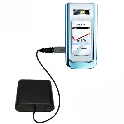 AA Battery Pack Charger compatible with the Nokia 6205